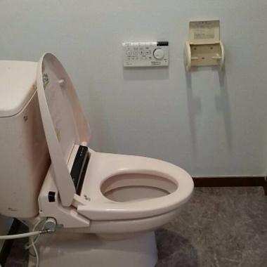 神奈川県鎌倉市 賃貸 トイレ、洗面台リフォームの施工後写真(1枚目)