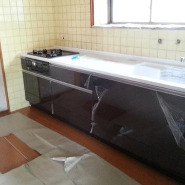 神奈川県足柄上郡 キッチンリフォーム T様邸の施工後写真(2枚目)