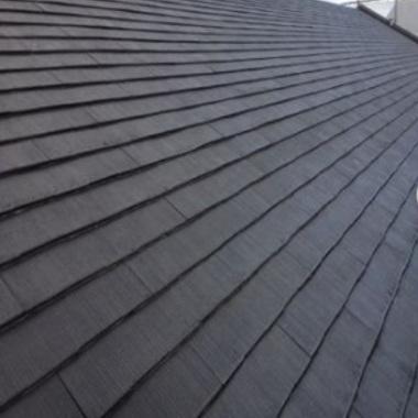 | マンション屋根塗装後