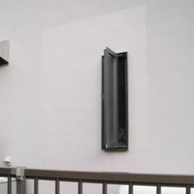 洗面所の窓 出窓に交換