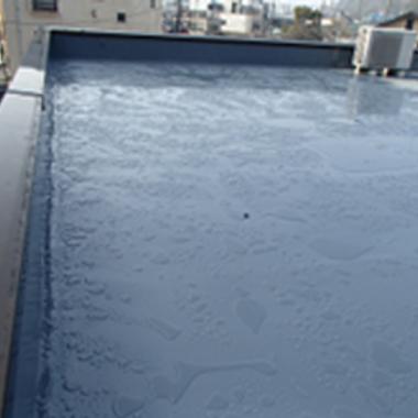 | マンション屋上防水塗装後