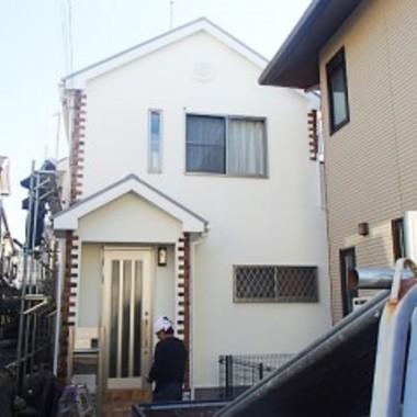 外壁と屋根の塗装後