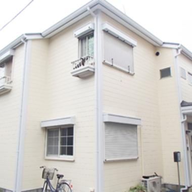 | 外壁と屋根の塗装後