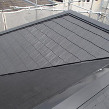 | 屋根塗装後