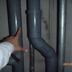 配管の水漏れ補修後