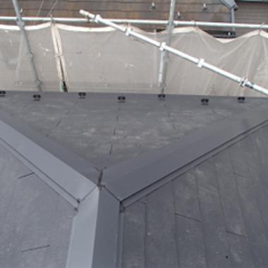 | 屋根の葺き替え後