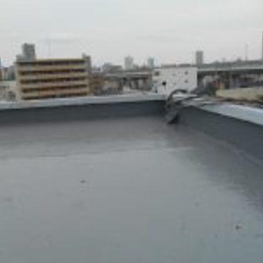 大阪市阿倍野区✕ウレタン防水工事✕雨漏りを改善する工事の施工後写真(1枚目)