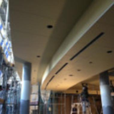 天井補修工事後