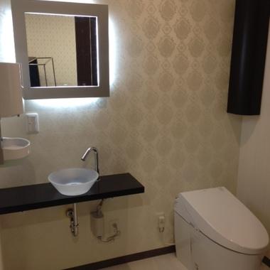 歯科医院全面リフォーム トイレ