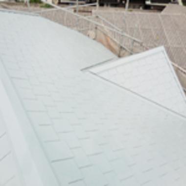 | 屋根塗装完了