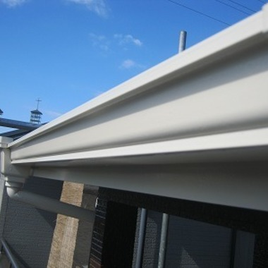 外壁・屋根塗装完了 雨樋
