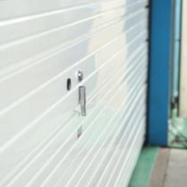 | 重量手動アルミオーバーヘッドドア取付工事