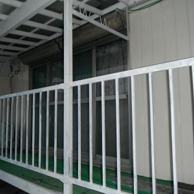 フェンス塗装完了