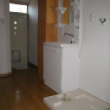 玄関収納.洗面.洗濯台リフォーム