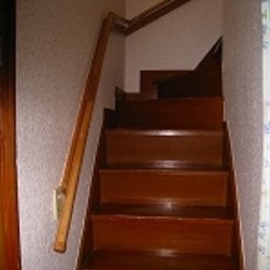 階段手摺設置工事完了