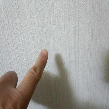 | 壁の穴補修完了