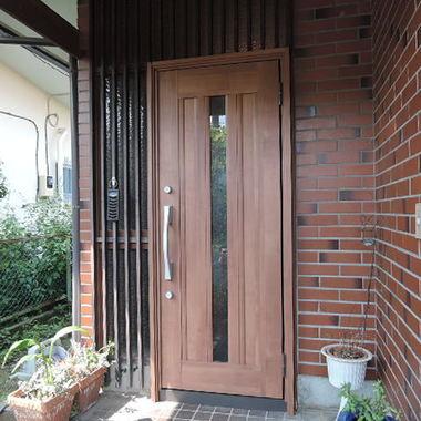 玄関ドア交換完了