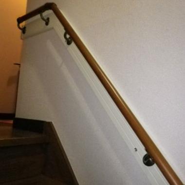 | 階段の手すり取付工事