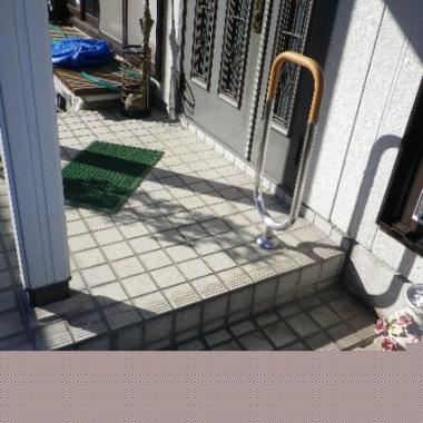 | 玄関の段差修理
