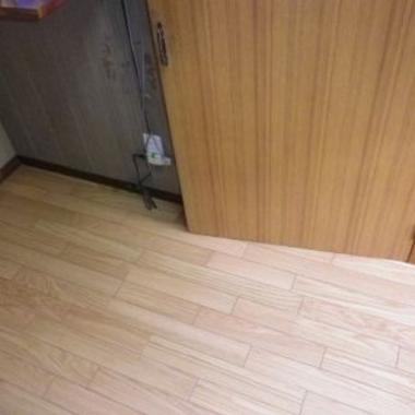 | 床張り替え工事
