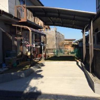 車庫の増築
