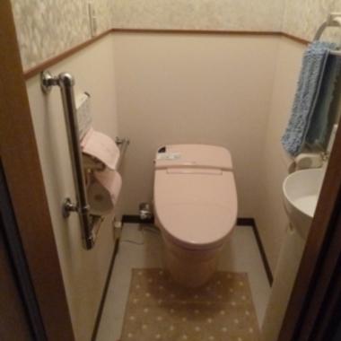 和式から洋式トイレにリフォーム