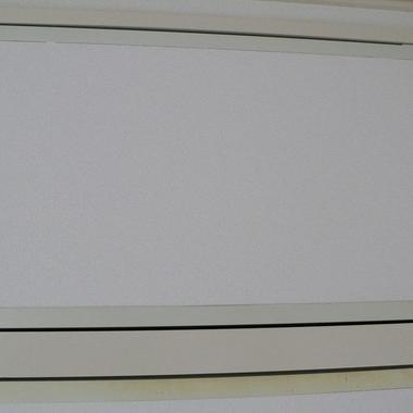 | アルミサッシ製天袋扉 黄ばみ補修完了