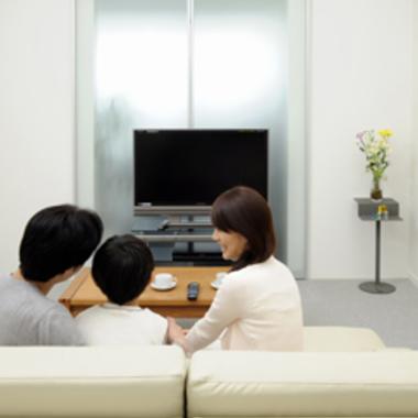 | 室内のハウスクリーニングできれいなリビングに