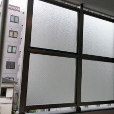 防風スクリーン設置
