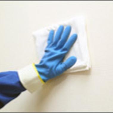 クロスクリーニング作業4 雑巾