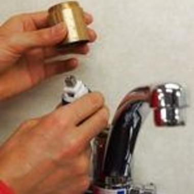 | 水道の水栓金具の交換