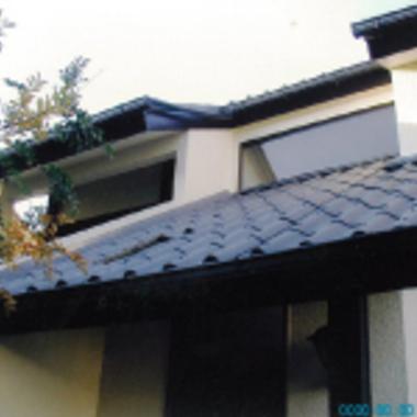 施工後の瓦屋根