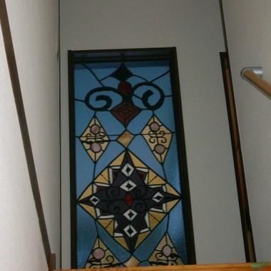 リフォーム後のステンドグラスの窓