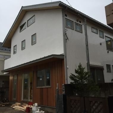 新築住宅の外観