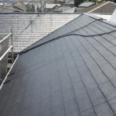 屋根塗装後の屋根