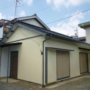 | 外壁塗装後の住宅外観