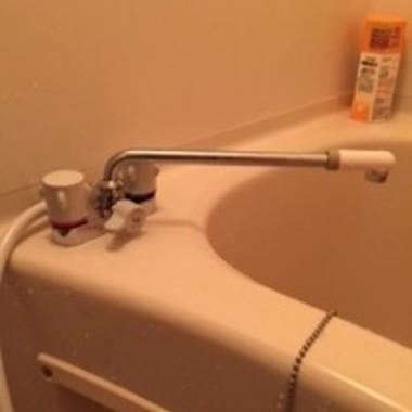 交換後の浴室の水道