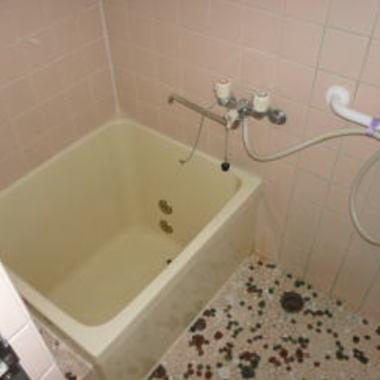 交換後の浴槽