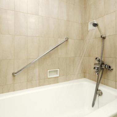 エコキュート施工後の浴室