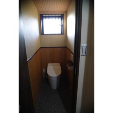 リノベーション後の洋式トイレ