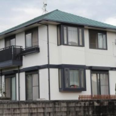 屋根・外壁塗装後 住宅外観
