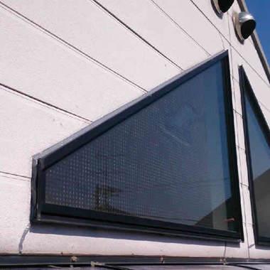 雨漏り修繕作業後 窓枠