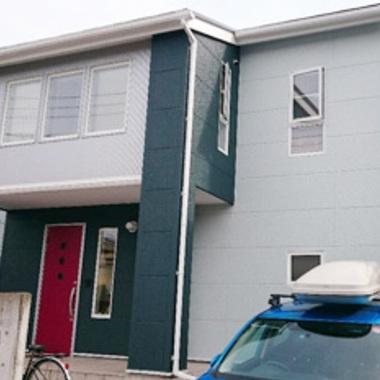 外壁屋根塗装後 住宅外観