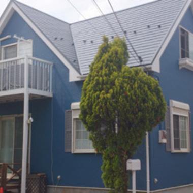 外壁塗屋根装後 住宅外観