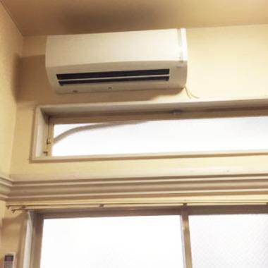 | 設置後 エアコン