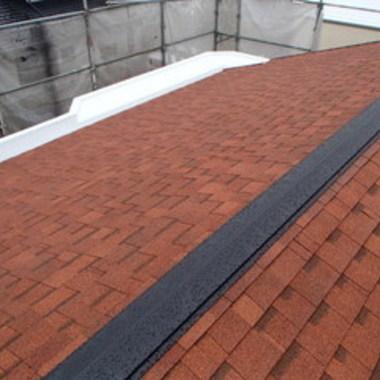 屋根塗装後 屋根