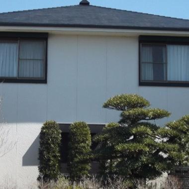 外壁塗装後 集合住宅
