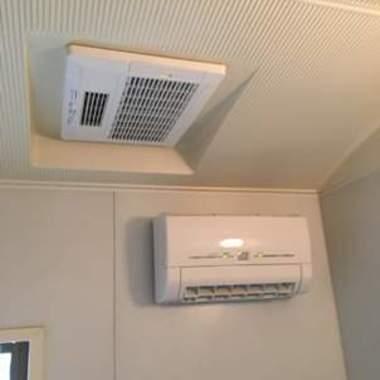 取り付け後 浴室乾燥暖房機