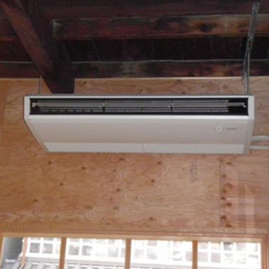 | 取付工事後 業務用エアコン