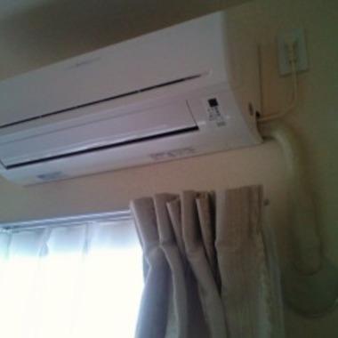 取付後 室内エアコン1